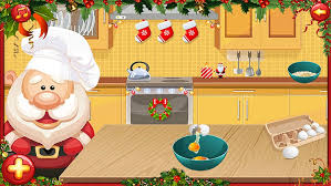 Games Christmas Cake With Santa