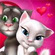 Games Talking Tom Cat Valentine