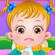 Games Baby Hazel Goes Sick