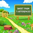 Games Sweet Farm 7 Differences