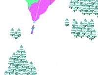 Colored Downhill